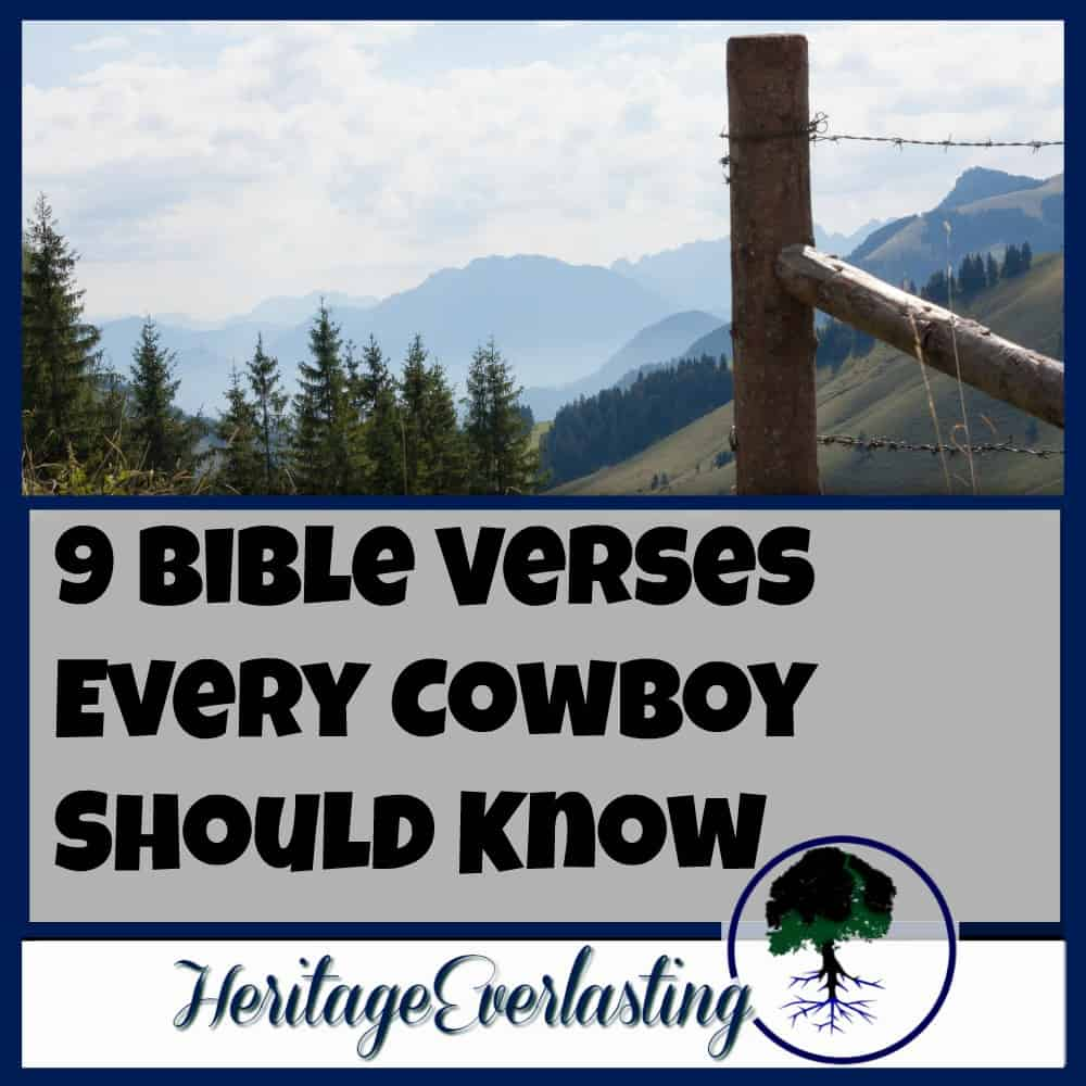 9 Bible Verses Every Cowboy Should Know