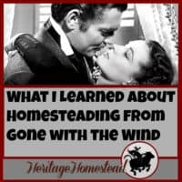 Homesteading | Funny Homesteading | Spirited, spunky, grab-life-by-the-horns kinda gal: Scarlett O'Hara from Gone with the Wind. What does she teach us about homesteading?