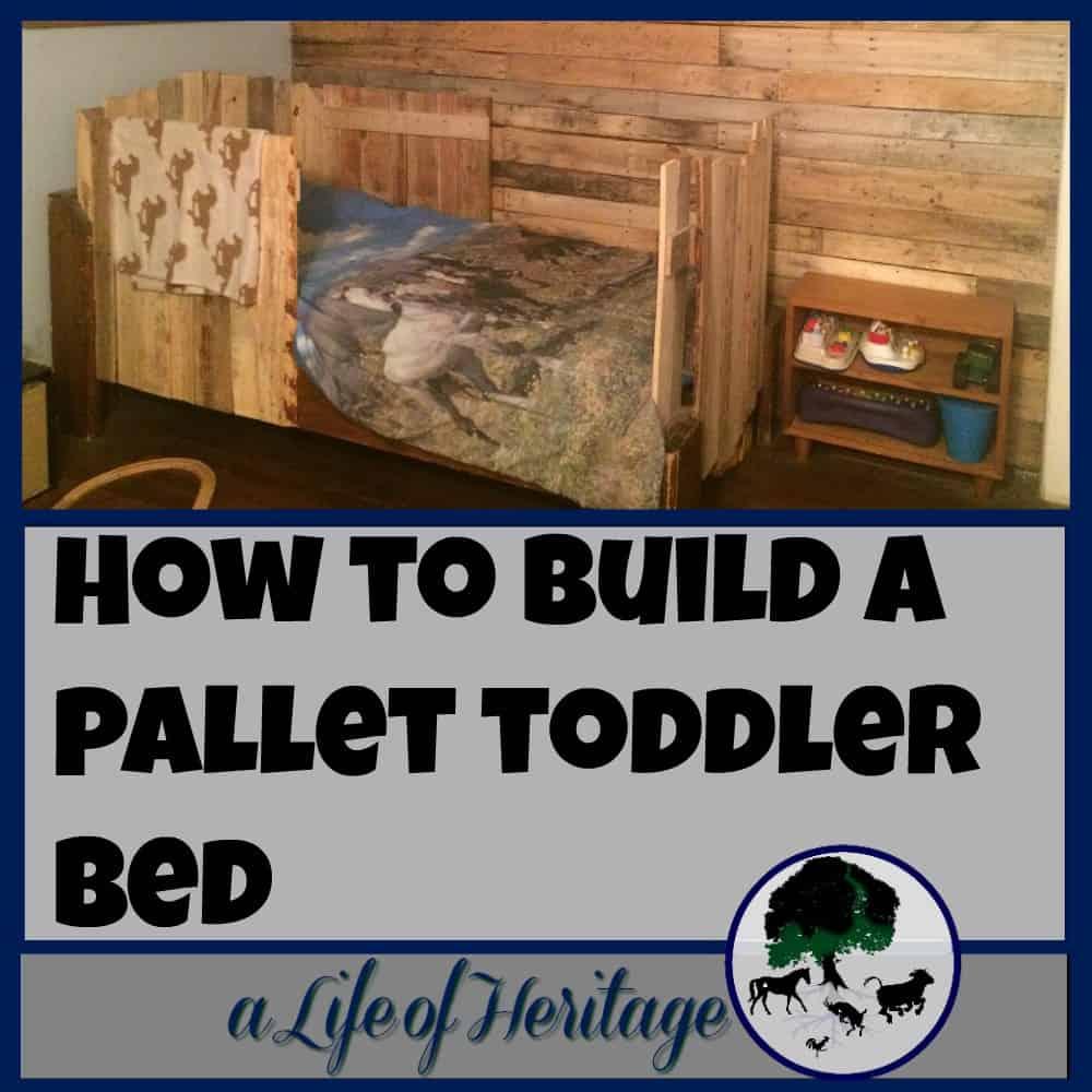 Pallet Toddler Bed