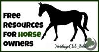 Horses | Resources for horse owners | Owning a horse | Free resource page for horse owners