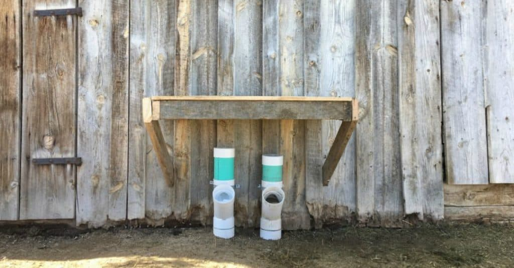 Goat Mineral Feeder. A goat mineral feeder that is easy to make and won't waste any expensive minerals. ✓Inexpensive! ✓Easy to assemble! ✓Durable! ✓Easy to check and fill.