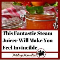 Inside: A steam juicer is a must in any canning kitchen. These questions answered! What is it, how does it work, which fruits, pros, cons, instructions, and tips.