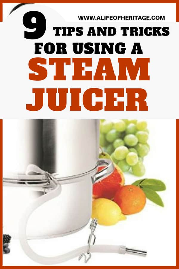 Canning can be so much easier with helpful canning tools...like steam juicer! Find out some tips and tricks to using a steam juicer!