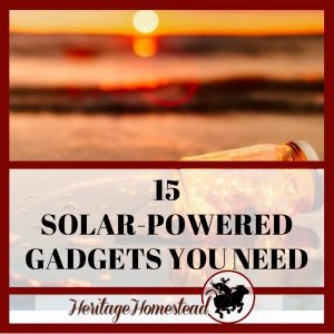 15 Solar Powered Gadgets You Didn't Even Know Existed! But Really Need!