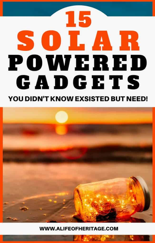 15 solar powered gadgets you didn't know existed but really need!