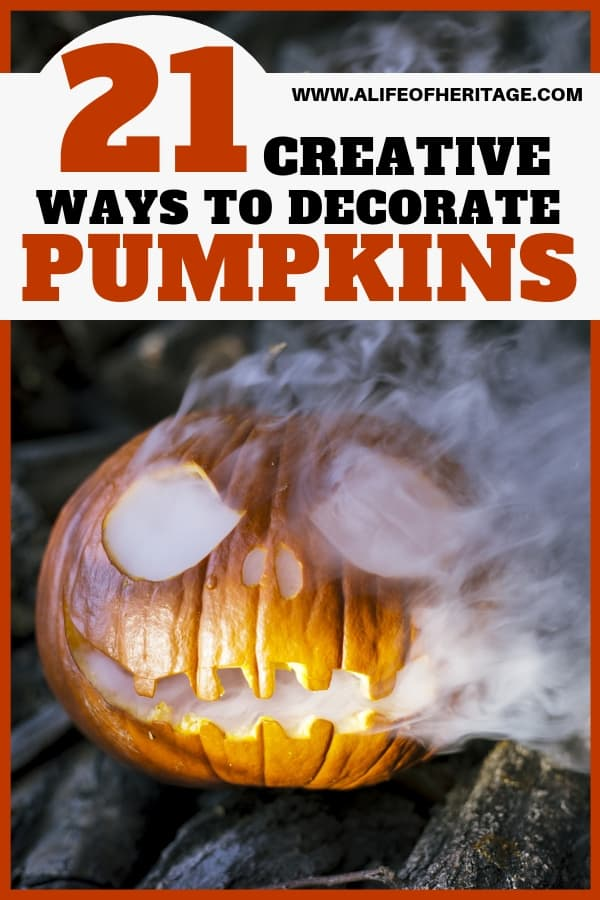 These fun and creative ideas will inspire you to get some pumpkins and work your magic on them!