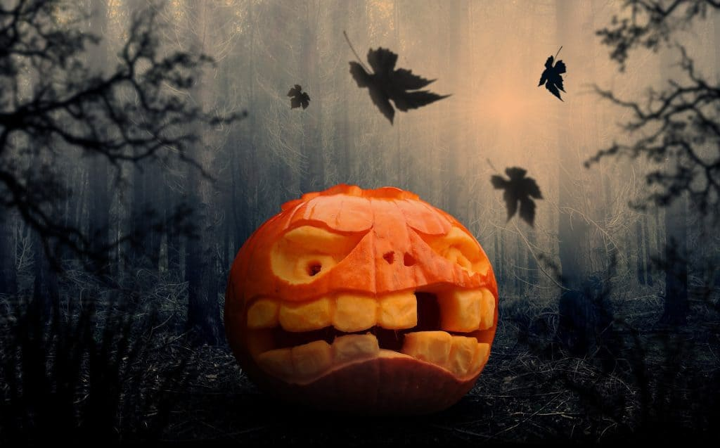 Carve a pumpkin with a toothy grin